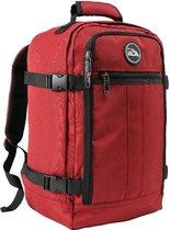 CabinMax Metz – Handbagage 20L – Rugzak – Schooltas - 40x25x20 cm – Compact Reistas – Lichtgewicht – Oxide Rood