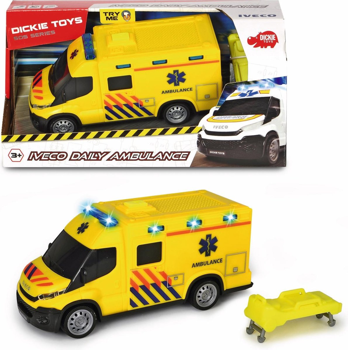Dickie Iveco Daily Belgie - Ambulance