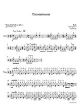 Rush - Circumstances: Drum Sheet Music