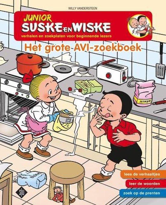 Junior Suske en Wiske- Het grote AVI zoekboek - Willy Vandersteen |