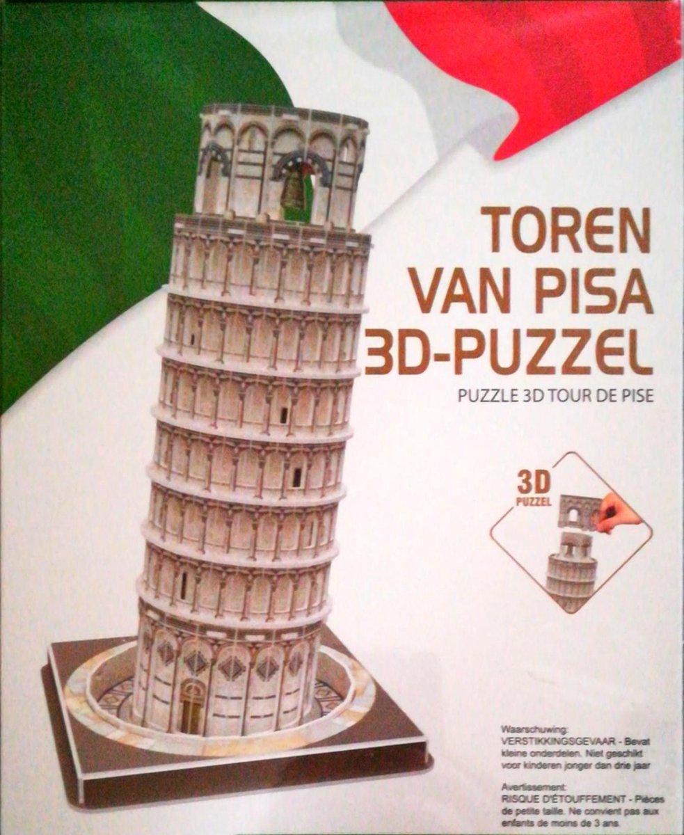 Toren van Pisa 3D-puzzel