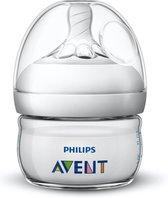 Philips Avent Natural babyfles - SCF039/17 babyfles (0m) voor langzame toevoer - 1x