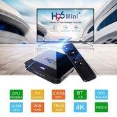 Android tv box Android 9 / Tv Box Android 4K / Mediaplayer voor Tv / Kodi Tv Box / H96 H8 mini 16GB