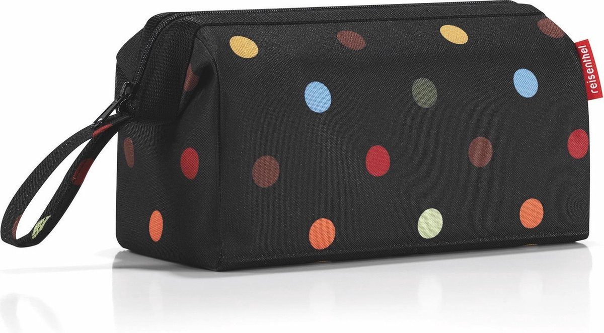 Reisenthel Travelcosmetic Toilettas - Polyester - 4L - Dots Zwart
