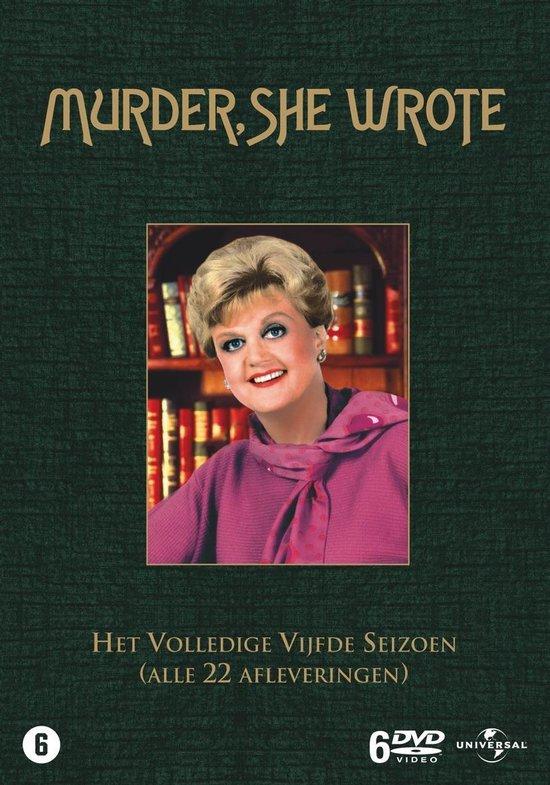 Cover van de film 'Murder She Wrote'