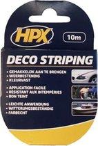 HPX Deco Sierbies Enkel 6mm x 10mtr Wijnrood