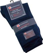 Diabetes sokken zonder elastiek,naadloos 6 paar ( marineblauw) 43/46