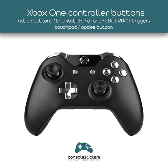 Xbox One Controller Buttons Pro Geel