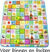 Groot Speelkleed voor kinderen 180x200cm in vrolijke kleuren - Dubbelzijdig! Speelmat - Speeltapijt - Foam - Baby
