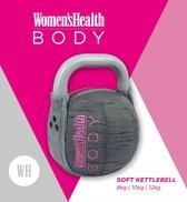 Women's Health Soft Kettlebell 8 kg - zachte kettlebell – fitnessaccessoires - Home Fitness