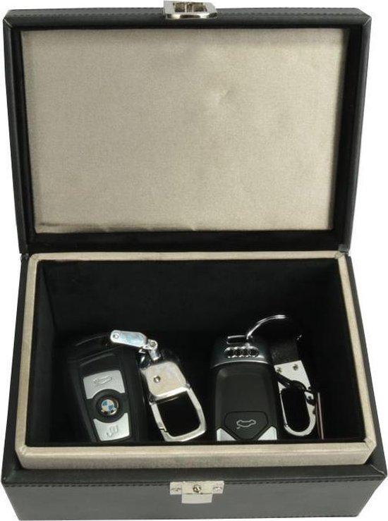 Antidiefstal autosleutel beschermbox - RFID beschermhoes - Keyless entry / go sleuteletui - Smart Key etui - signaal blocker - Keyless Entry uitschakelen - Anti-Skim - Zwart