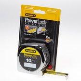 STANLEY Rolbandmaat Powerlock 10m - 25mm