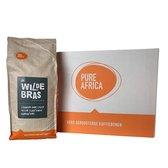 Pure Africa | De Wildebras koffiebonen - 8 x 1 kg