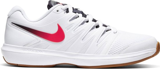 Air Zoom Prestige Heren Sportschoenen - White/Laser Crimson-Gridiron-Wheat - Maat 40.5