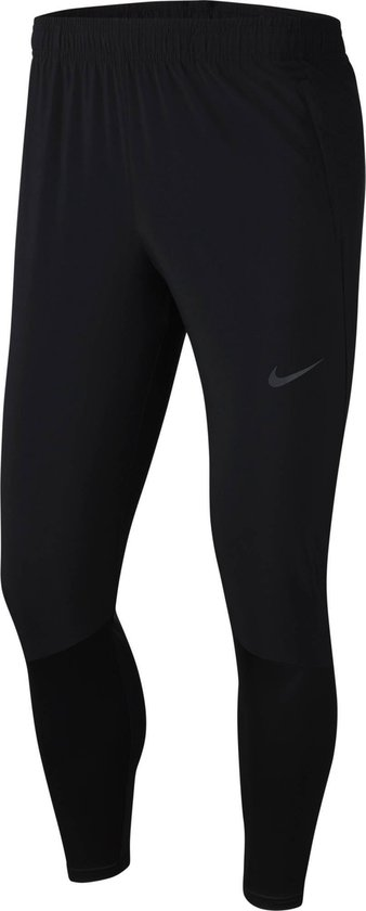Nike Essential Hyb Pant Heren Sportbroek - Black/Reflective Silv - Maat M