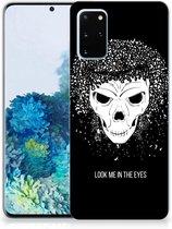 Silicone Back Case Samsung Galaxy S20 Plus Skull Hair
