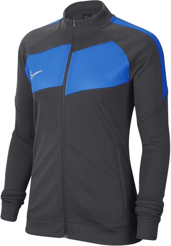 Nike Academy Pro Ziptop Dames Zwart Antraciet | Maat: 38 40