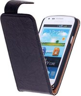 Wicked Narwal | Echt leder Classic Hoes voor Samsung Galaxy S3 i9300 Zwart