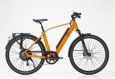 Qwic Performance RD11 Elektrische fiets - Heren - 53 cm - Mat oranje