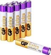 GP Extra Alkaline batterijen AAAA batterij 1.5V - 8 stuks
