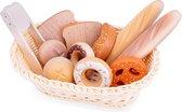 New Classic Toys Speelgoed Brood Mandje voor een Heerlijk Ontbijt of Lunch