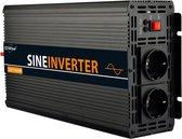 EnRise 12V-220V Zuivere Sinus Omvormer - 1500W/3000W - Pure Inverter + Controller