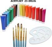 Acrylverf - set - 18 kleuren