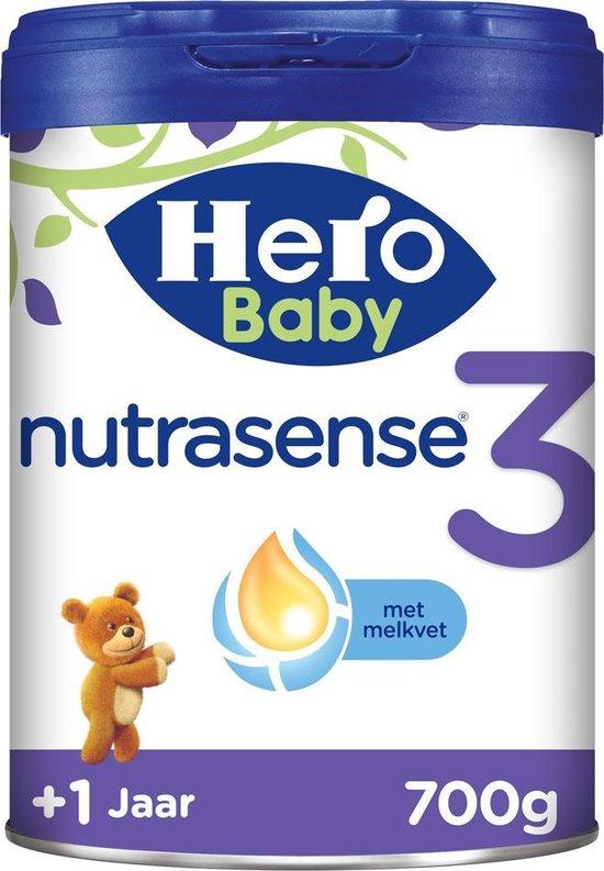 Hero Baby Nutrasense peutermelk 3 (1+jr) 3 STUKS