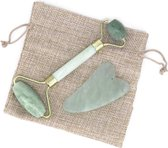 Gezichtsmassage Roller - Jade Roller - Handgemaakt