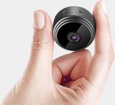 Beveiligingscamera met App + Wifi en uitbreidbaar geheugen - Mini Spycam - Wireless Action Camera - Draadloos - Bewakingscamera - Night Vision