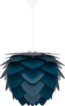 Umage Aluvia Medium  Ø 59 cm - Hanglamp blauw- Koordset wit