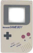 Game Boy Bijtketting - Kauwsieraad - Grijs