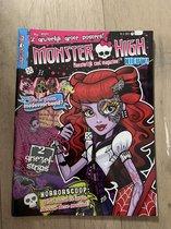 Monster High Magazine, strip, horoscoop, stickers, posters - doe-boek