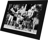 Kiki&Co Digitale fotolijst met WiFi en Frameo app - 10 inch - Zwart