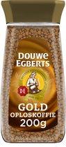 Douwe Egberts Gold oploskoffie - pot - 6 x 200 gram