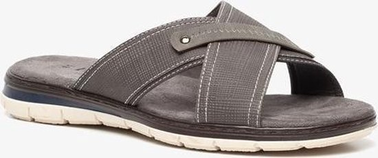 bol.com | Blue Box heren slippers - Grijs - Maat 43