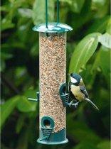 Set van 2x Tuinvogels hangende voeder silo 25 cm -