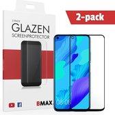 2-pack BMAX Glazen Screenprotector Huawei Nova 5T Full Cover Glas / Met volledige dekking / Beschermglas / Tempered Glass / Glasplaatje