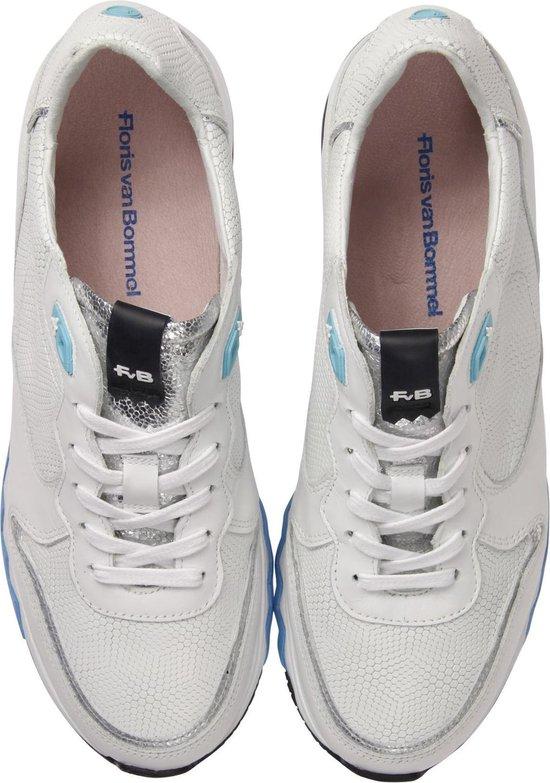 Floris Van Bommel Vrouwen Sneakers - 85302 Wit Maat 38 NcNpRI