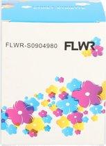 FLWR - Labelprinterrol / Dymo S0904980 / 4XL / 104X159MM Wit