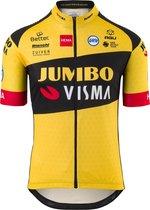 AGU Team Jumbo Visma Replica    Fietsshirt Heren - Geel - Maat XL