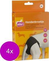 Adori Hondenbroek Luxe Zwart - Hondenloopsheid - 4 x Medium