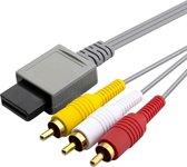Thredo Composiet (Tulp) AV kabel voor Nintendo Wii - 1,8 meter