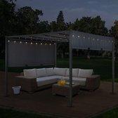 Paviljoen Cavo - 3 x 4 m - Incl. LED - Grijs