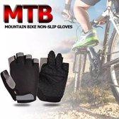 Fietshandschoen zwart XL/XXL, MTB, ATB, Race, Handschoen