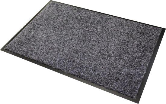 Wash & Clean droogloop deurmat, machine wasbaar op 30°, 90 cm x 60 cm.