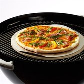 MaxxGarden BBQ pizzasteen - barbecue steen 600 graden - ⌀33