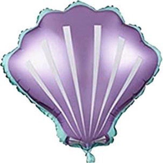 Folieballon Schelp - Zeemeermin Feest - Folieballon Mermaid - Mermaid Versiering
