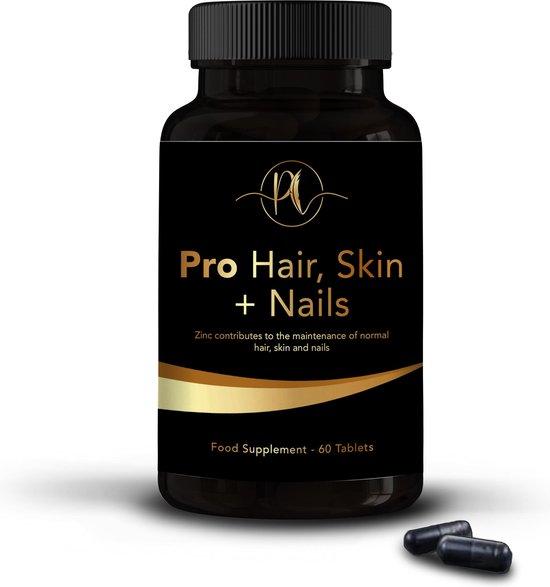 Premium Life Pro Hair, Skin + Nails   Haar huid nagels   vitaminen   Zinc tabletten   Zink tabletten volwassenen  Zink Haar voedingssupplementen   Zinc   Zink tabletten   Zink   Nagels vitamines   MSM   60 tabletten  