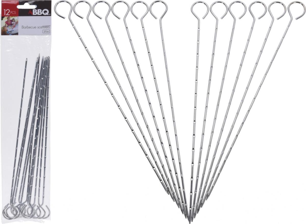 Barbecue pennen 12 stuks - 27 cm